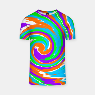 Thumbnail image of Boomba Spiral Orange T-shirt, Live Heroes
