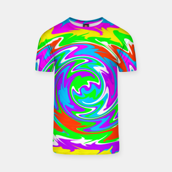 Thumbnail image of Boomba Spiral Green T-shirt, Live Heroes