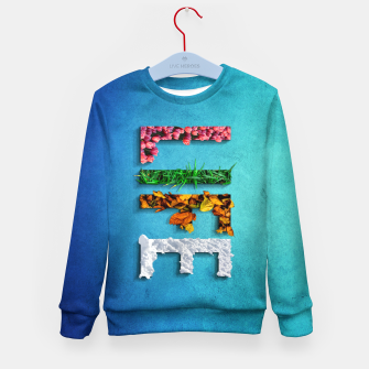 Thumbnail image of LIFE Kid's sweater, Live Heroes