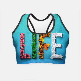 Thumbnail image of LIFE Crop Top, Live Heroes