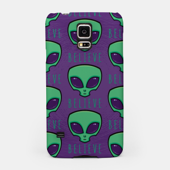 Thumbnail image of Believe Alien Head Pattern Samsung Case, Live Heroes