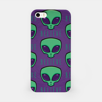 Thumbnail image of Believe Alien Head Pattern iPhone Case, Live Heroes