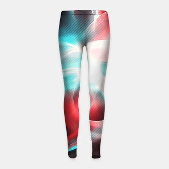 Thumbnail image of abstract fractals 1x1 reac2s Girl's leggings, Live Heroes