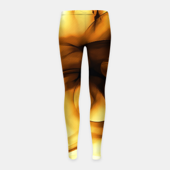Thumbnail image of abstract fractals 1x1 reacc80c82i Girl's leggings, Live Heroes