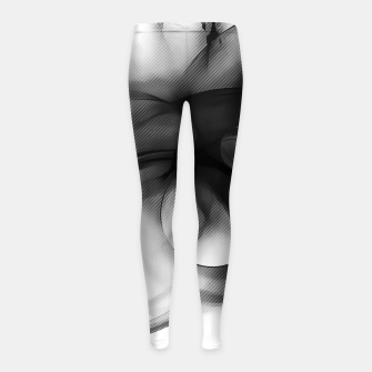 Thumbnail image of abstract fractals 1x1 reacbwi Girl's leggings, Live Heroes