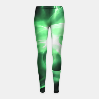 Thumbnail image of abstract fractals 1x1 reacde Girl's leggings, Live Heroes