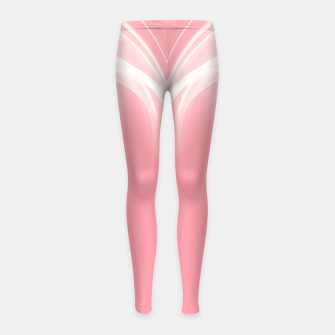 Thumbnail image of abstract fractals mirrored reacpw Girl's leggings, Live Heroes