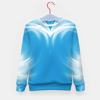 Thumbnail image of abstract fractals mirrored reacwb Kid's sweater, Live Heroes