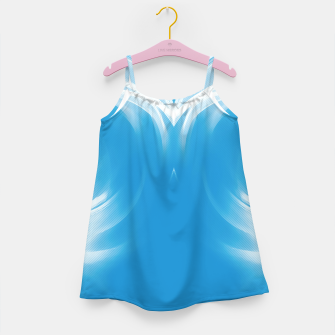 Thumbnail image of abstract fractals mirrored reacwb Girl's dress, Live Heroes