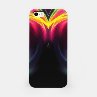Thumbnail image of abstract fractals mirrored reacstd iPhone Case, Live Heroes