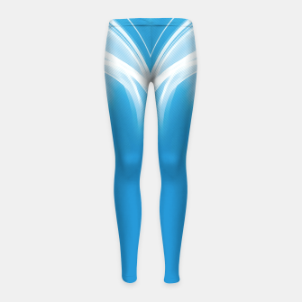 Thumbnail image of abstract fractals mirrored reacwb Girl's leggings, Live Heroes