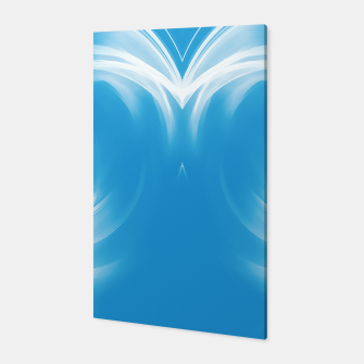 Thumbnail image of abstract fractals mirrored reacwb Canvas, Live Heroes