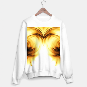 Thumbnail image of abstract fractals mirrored reacc80c82i Sweater regular, Live Heroes