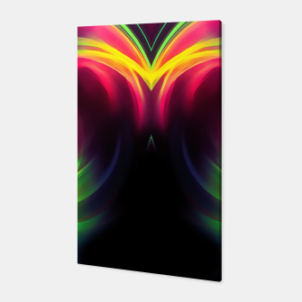 Thumbnail image of abstract fractals mirrored reacstd Canvas, Live Heroes