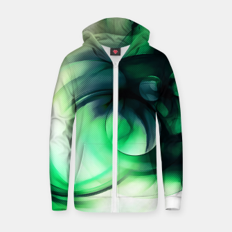 Thumbnail image of abstract fractals 1x1 reacmagi Zip up hoodie, Live Heroes