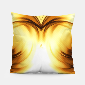 Thumbnail image of abstract fractals mirrored reacc80c82i Pillow, Live Heroes