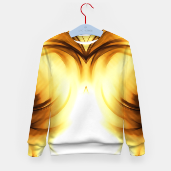 Thumbnail image of abstract fractals mirrored reacc80c82i Kid's sweater, Live Heroes