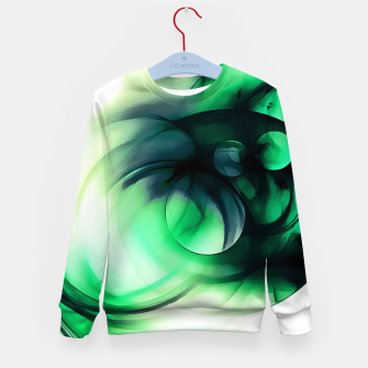 Thumbnail image of abstract fractals 1x1 reacmagi Kid's sweater, Live Heroes