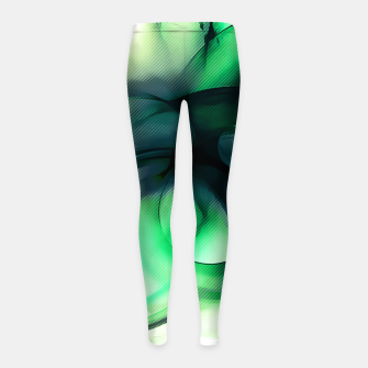 Thumbnail image of abstract fractals 1x1 reacmagi Girl's leggings, Live Heroes