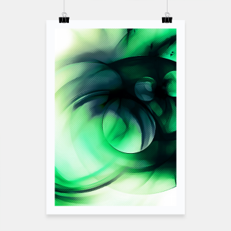 Thumbnail image of abstract fractals 1x1 reacmagi Poster, Live Heroes
