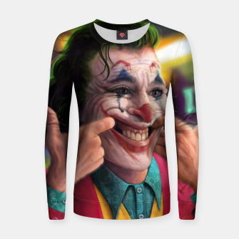 Thumbnail image of Arthur Fleck  - The Joker Women sweater, Live Heroes