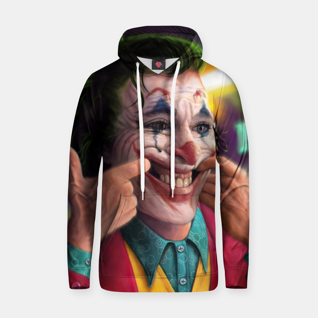 Image of Arthur Fleck  - The Joker Hoodie - Live Heroes