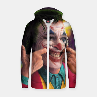 Thumbnail image of Arthur Fleck  - The Joker Zip up hoodie, Live Heroes
