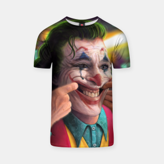 Thumbnail image of Arthur Fleck  - The Joker T-shirt, Live Heroes