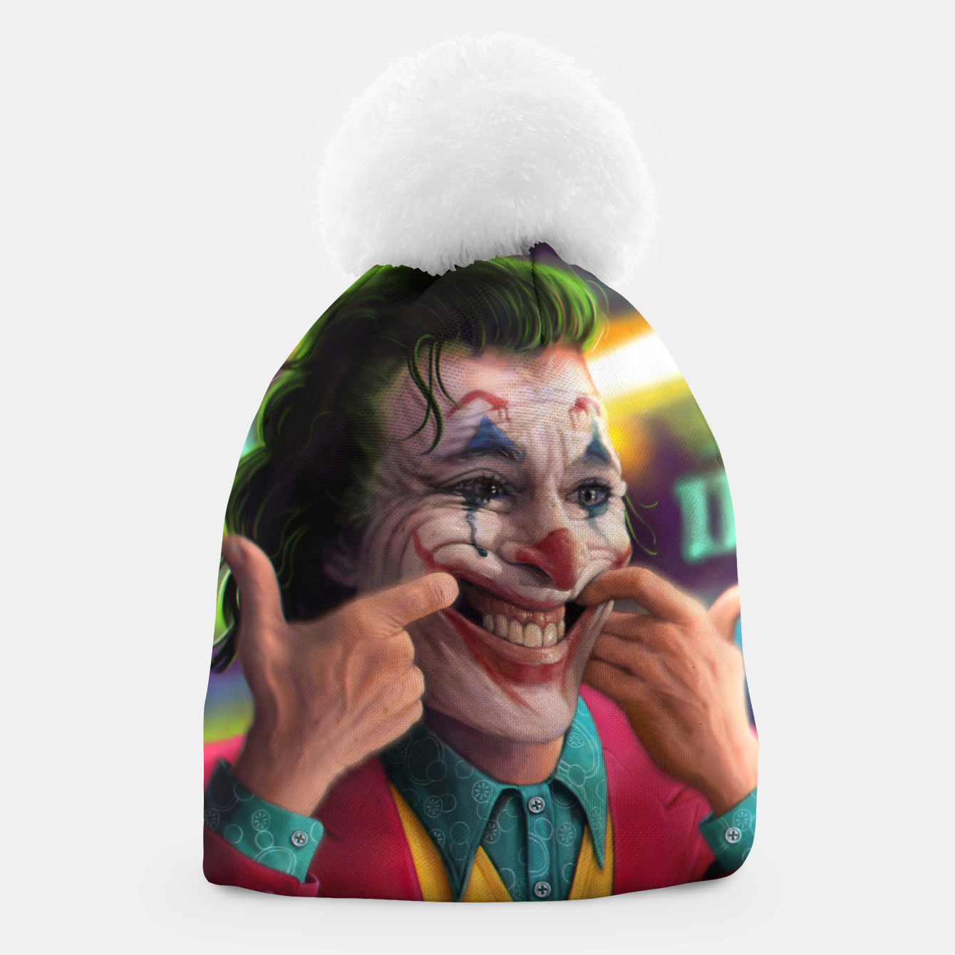 Image of Arthur Fleck  - The Joker Beanie - Live Heroes