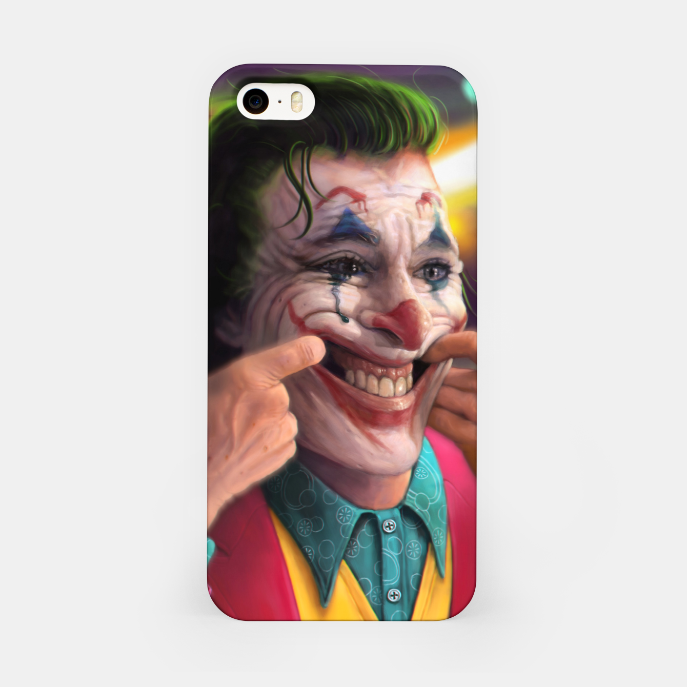 Image of Arthur Fleck  - The Joker iPhone Case - Live Heroes