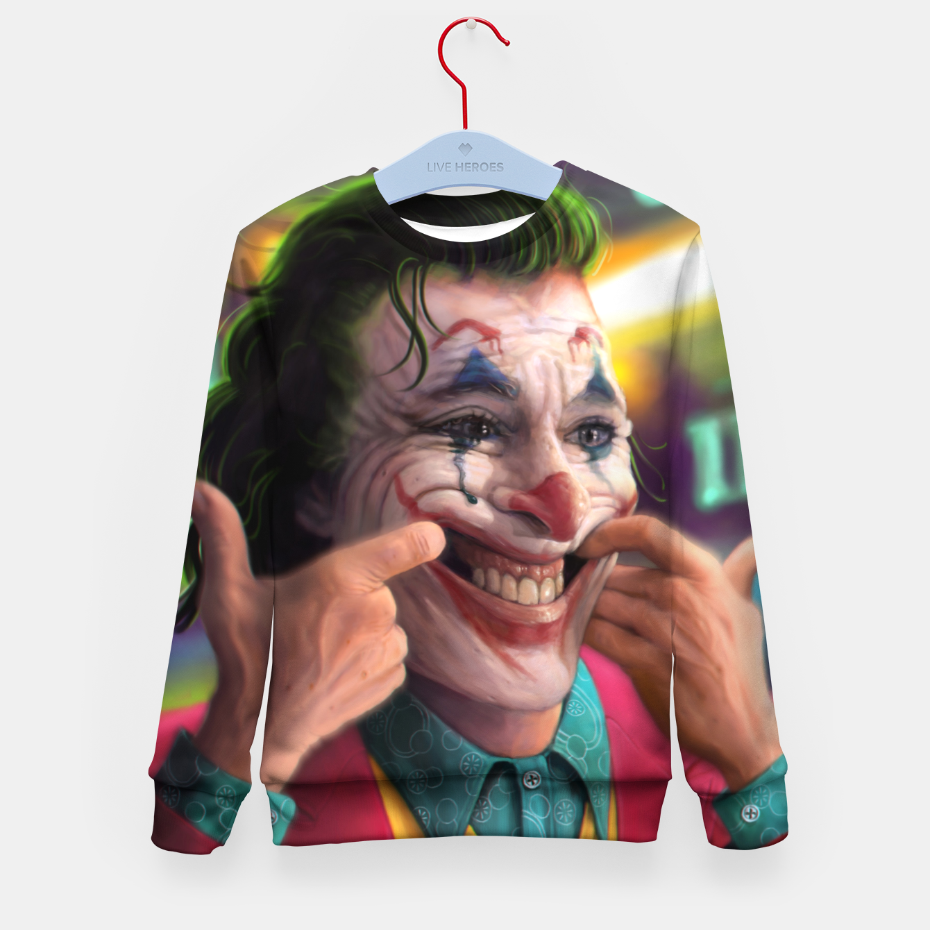 Image of Arthur Fleck  - The Joker Kid's sweater - Live Heroes
