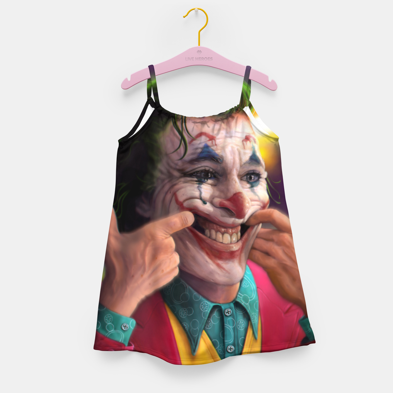 Image of Arthur Fleck  - The Joker Girl's dress - Live Heroes