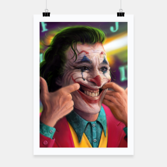 Thumbnail image of Arthur Fleck  - The Joker Poster, Live Heroes
