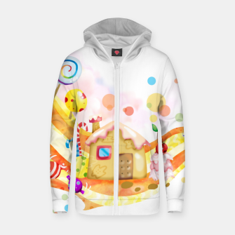 Thumbnail image of Candy House Zip up hoodie, Live Heroes