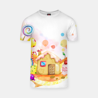 Thumbnail image of Candy House T-shirt, Live Heroes