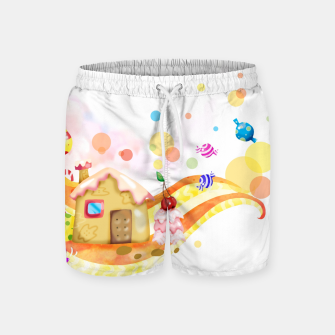 Thumbnail image of Candy House Swim Shorts, Live Heroes