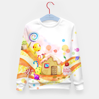 Thumbnail image of Candy House Kid's sweater, Live Heroes