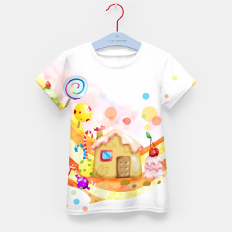 Thumbnail image of Candy House Kid's t-shirt, Live Heroes