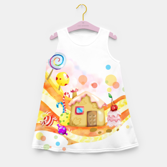 Thumbnail image of Candy House Girl's summer dress, Live Heroes