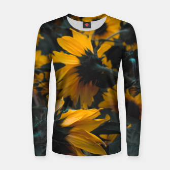 Thumbnail image of Sunflowers Women sweater, Live Heroes