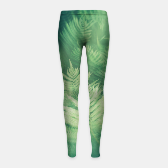 Nature II Girl's leggings obraz miniatury
