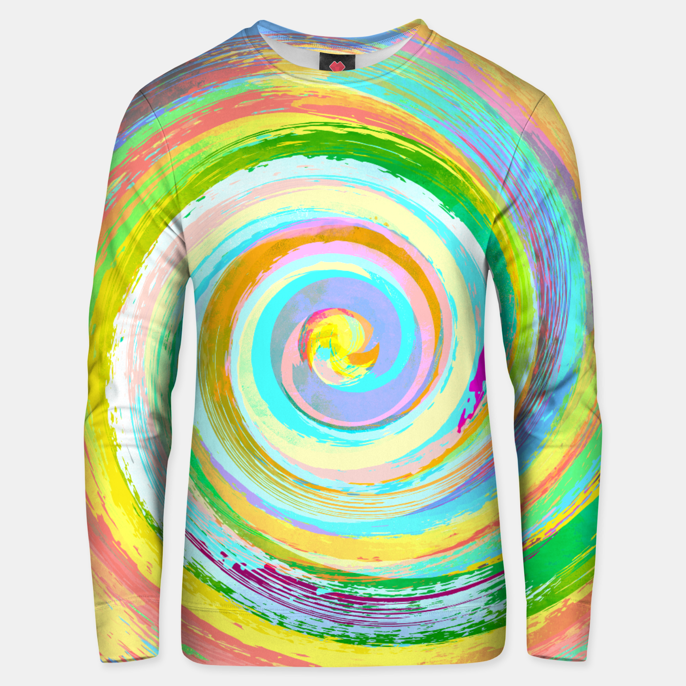 Foto Spiral and colors Unisex pull - Live Heroes