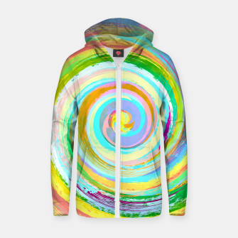Miniatur Spiral and colors Sweat capuche zippé , Live Heroes