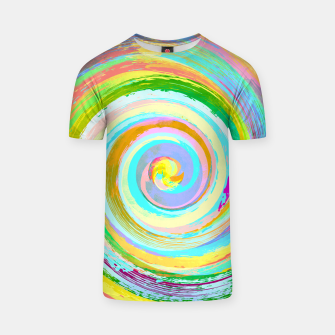 Spiral and colors T-shirt Bild der Miniatur