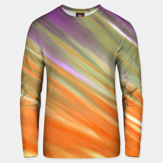 Thumbnail image of Tangerine Aurora Unisex sweater, Live Heroes