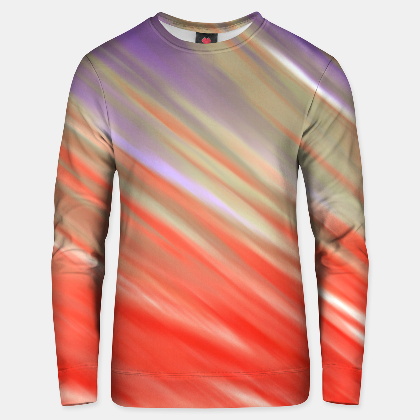Image of Crimson Aurora Unisex sweater - Live Heroes