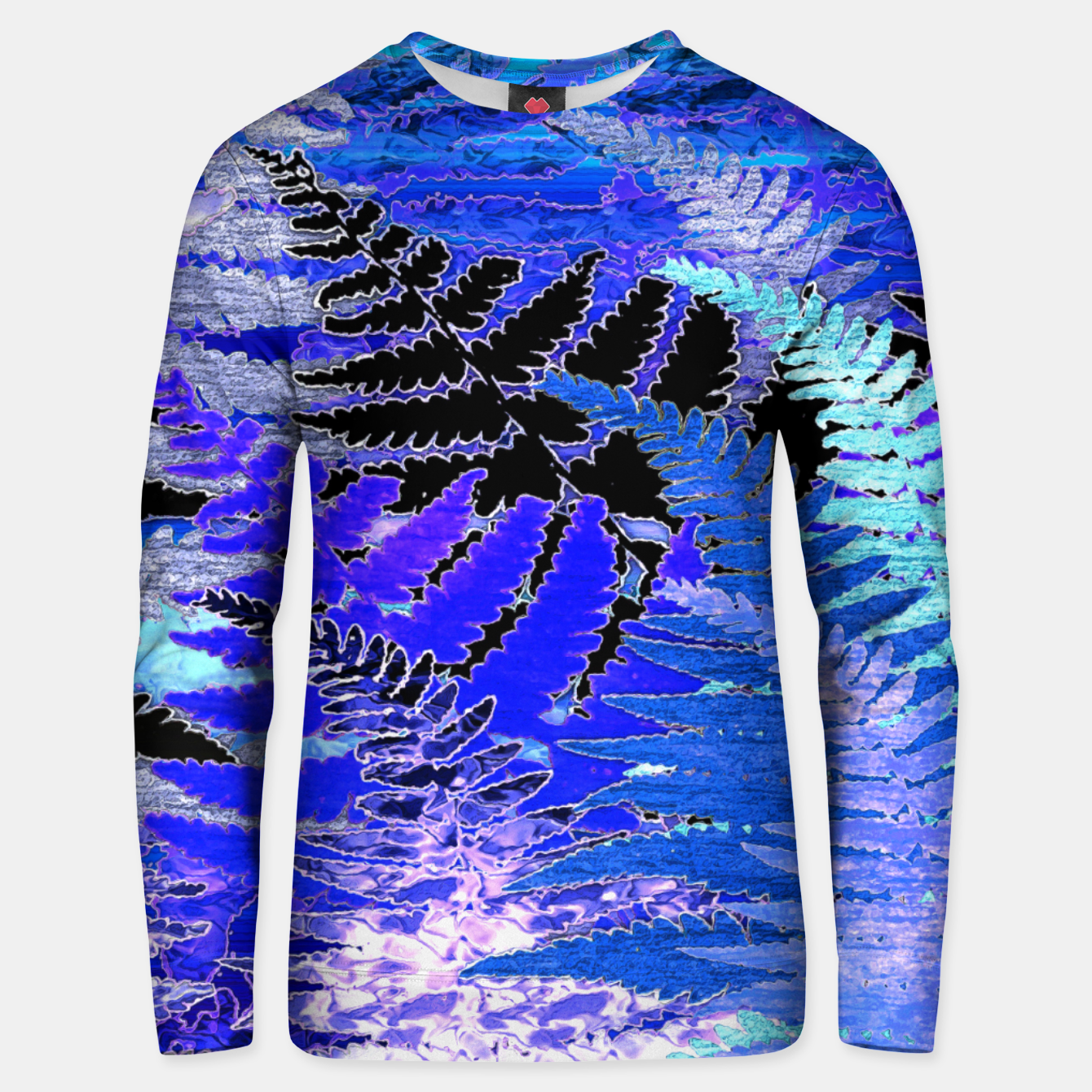 Image of Ferns, Moonlight Blue Unisex sweater - Live Heroes