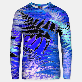 Thumbnail image of Ferns, Moonlight Blue Unisex sweater, Live Heroes