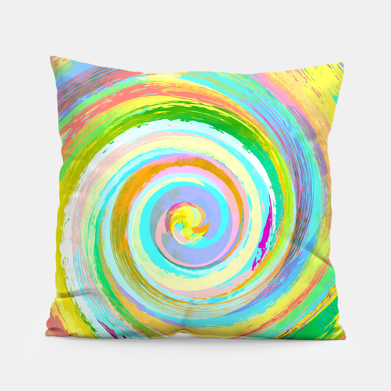 Foto Spiral and colors Coussin - Live Heroes