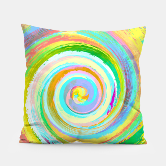 Spiral and colors Coussin Bild der Miniatur